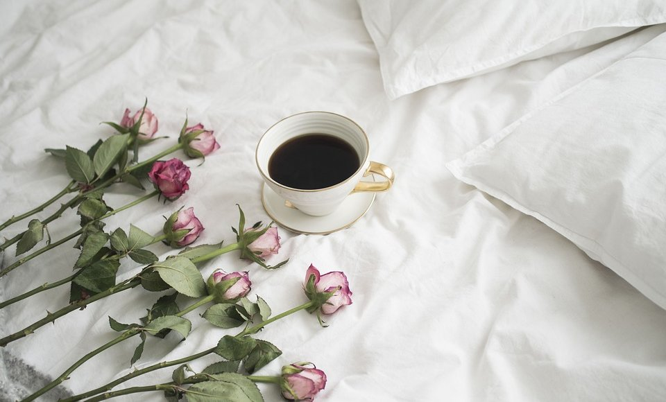 pościel i róża